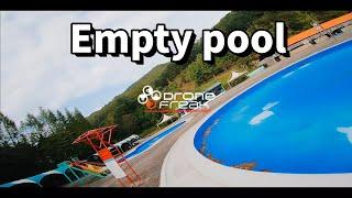 an Empty poo…