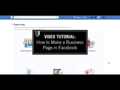 Video Tutorial: How to Start A Facebook Business Page