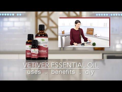 Vetiver Essential Oil - Website Version