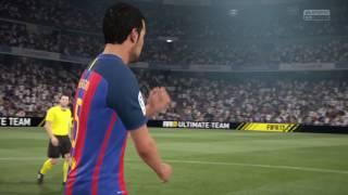 Fifa 17 (PS4 PRO) 4K GAMEPLAY Barcelona vs Real Madrid El clássico