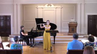 Duo for flute and piano, I. Flowing