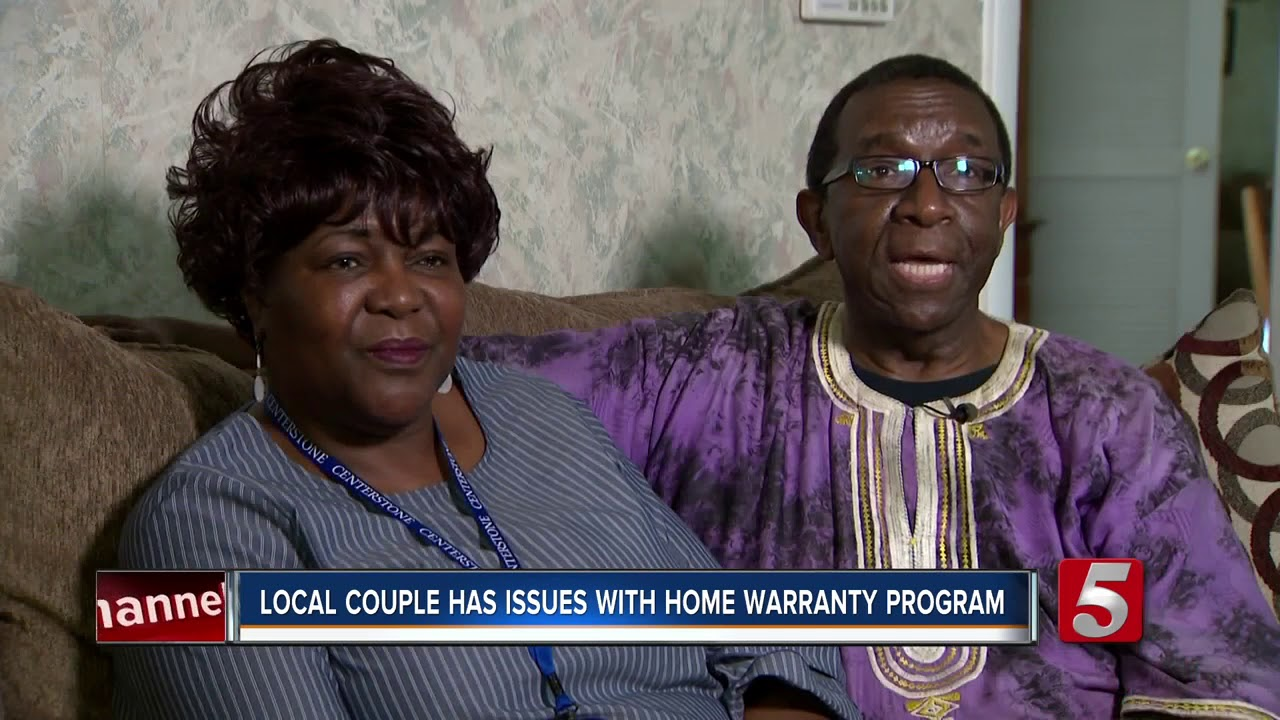 Local Couple Holds Home Warranty Company Accountable