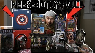 TOY HUNTING IN LOUISVILLE WITH FOXXY FAUX REAL! BIGGEST TOY HAUL EVER! MEZCO, MARVEL LEGENDS, NECA!!