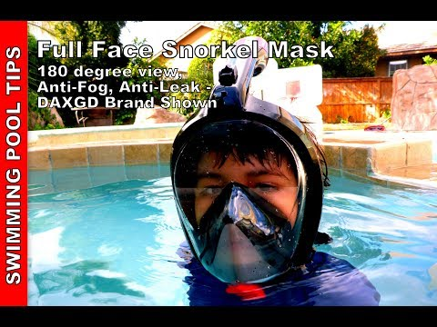 GoPro Compatible For Adult and Youth Lightahead 180/° Full Face Scuba Snorkel Diving Mask Anti-Fog Anti-Leak with Panoramic Full Face Easy Breath Design /& Adjustable Head Straps