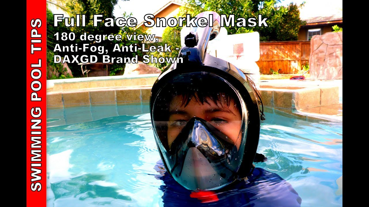 Full face snorkel mask by daxgd 180 degree view anti - Get a swimming pool full of liquor ...