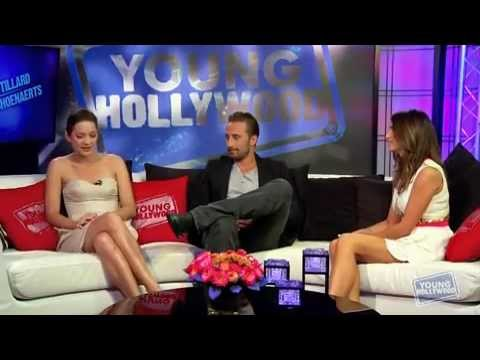 Marion Cotillard and Matthias Schoenaerts - Young Hollywood Interview [Rust and Bone] (2012)