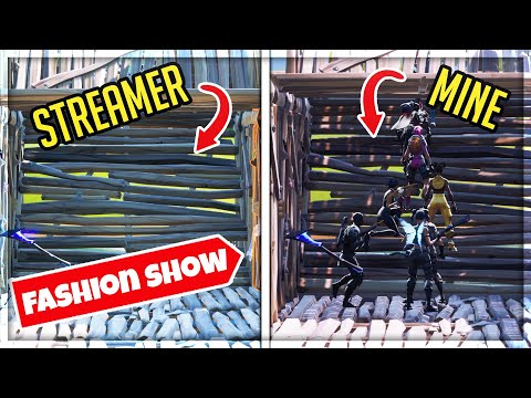 I STOLE THESE STREAMERS FASHION SHOWS