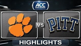 Clemson vs Pittsburgh | 2014 ACC Baseball Highlights