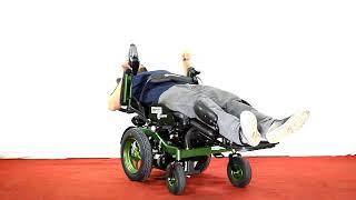 BRONCO EB207 Reclining Power Wheelchair
