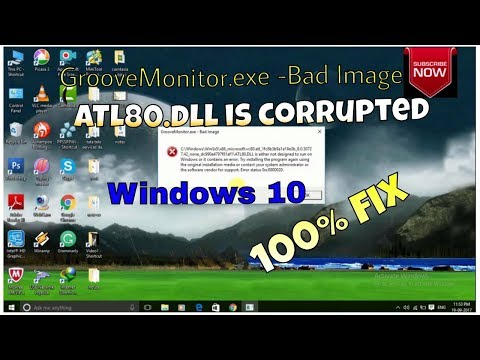 Bad image pop up problem 100% fix_ Groove_monitor.exe bad image fix by_Updated first.