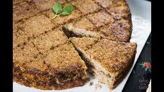 Kebee o kepe charola relleno. Recetas fáciles tradicionales de cocina árabe