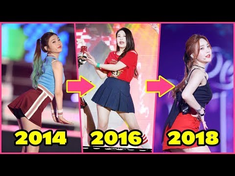 Red Velvet JOY - Body Transformation 2014-2018 [Weight Loss-Before/After]