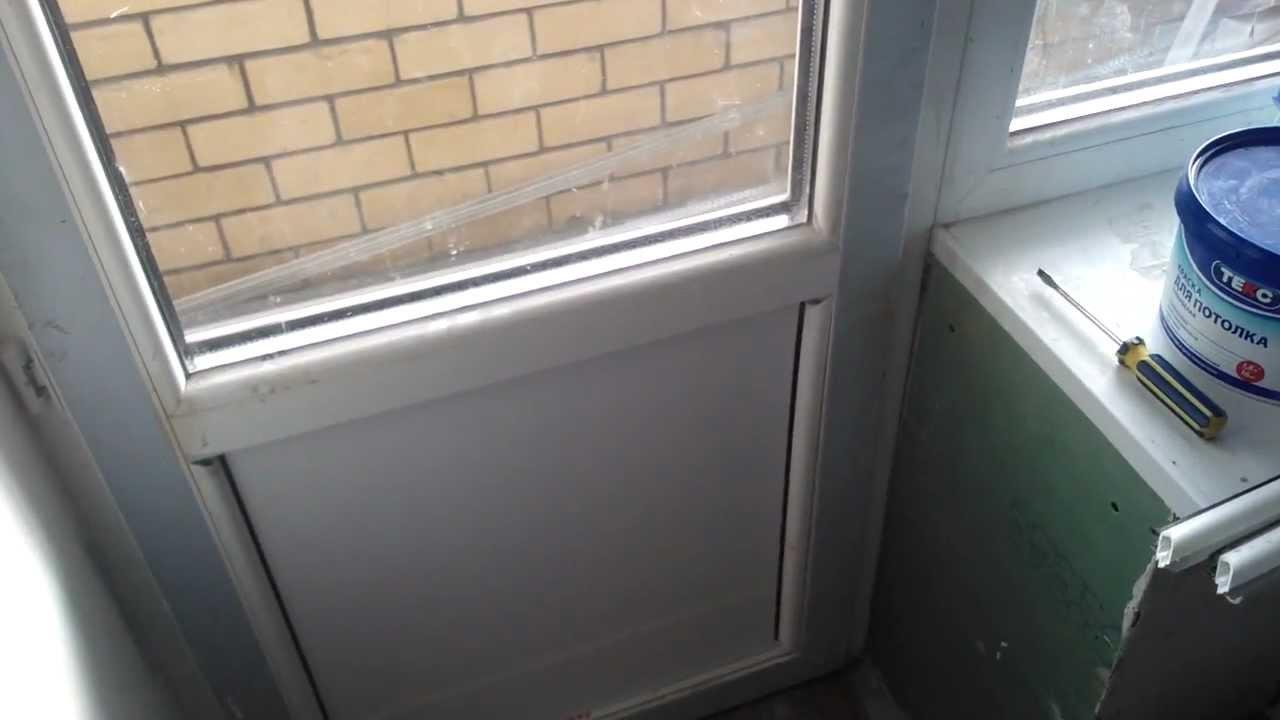 Замена панели или стекла на пластиковых окнах - youtube.