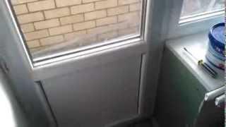 Замена панели или стекла на пластиковых окнах