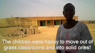 Meet the headmistress of Anoura primary school in West Africa