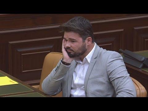 """GABRIEL RUFIAN (ERC) interroga al EXDIRECTOR GENERAL de la POLICIA """"política"""" (06/06/2017)"""