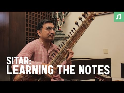 Sitar : recognizing the notes