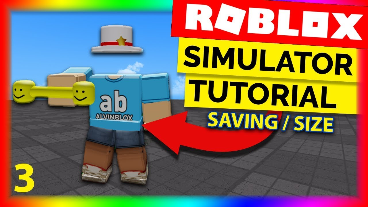 How To Make A Simulator On Roblox Part 3 Data Saving Size
