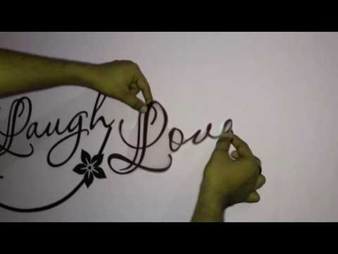 DIY Decals Design 'Live Laugh And Love Family' Wall Sticker