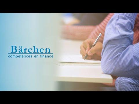 BÄRCHEN, spécialiste des formations en banque, finance et assurance