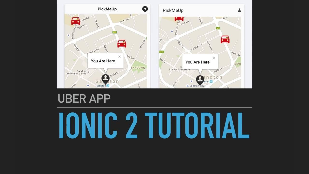 Ionic 2 Tutorial - Uber App - Intro
