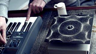 Cymatics: Chladni Plate - Sound, Vibration and Sand