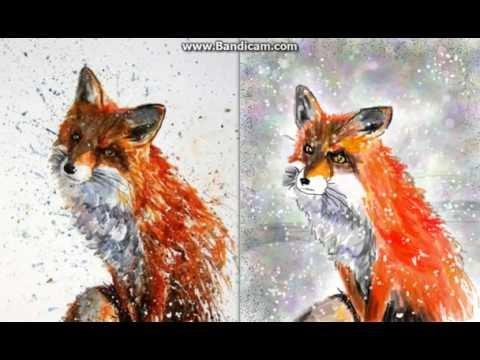 Рисунок лисы