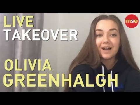 MSE Sunday Live 8pm! Olivia Greenhalgh Live Takeover | Q&A Teen Chat 20.10.19