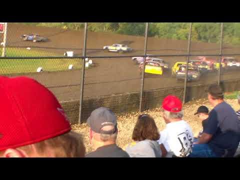 Hobby Stock Heat 1 @ Marshalltown Speedway 09/16/17