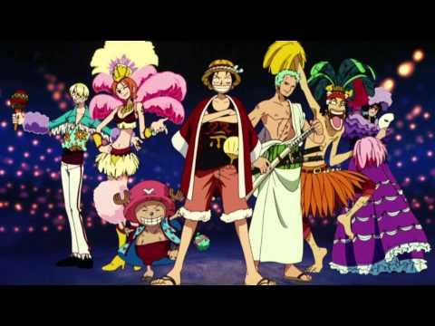 One Piece Movie 7 OST - Karakuri-jou no Mecha-kyohei - Meka shima ni shinro o tore