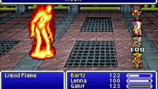 Final Fantasy V Boss - Liquid Flame