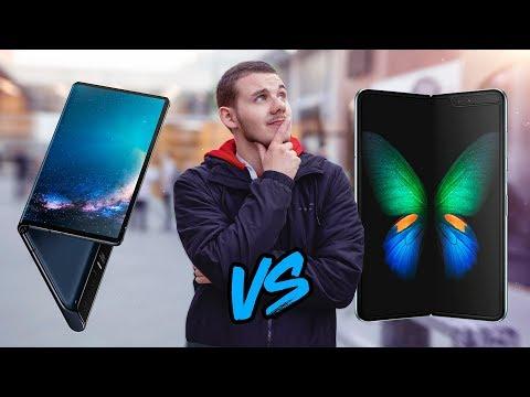 Samsung Galaxy Fold VS Huawei Mate X : les smartphones PLIABLES à plus de 2000€