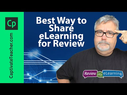 Best Way to Share eLearning for Review