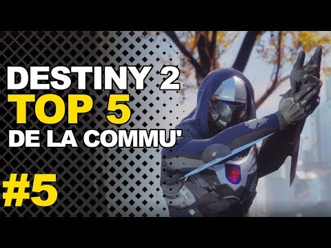 DESTINY 2 : TOP 5 DE LA COMMUNAUTÉ (...IL CLUTCH EN 1V6) thumbnail