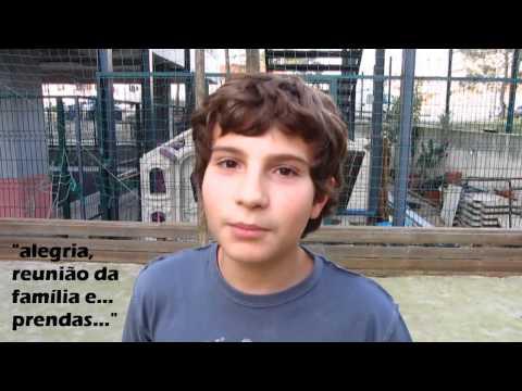 000 MiniVideo Reportagem sobre o Natal Radio Colégio Atlântico   Prof  Edgar Raposo