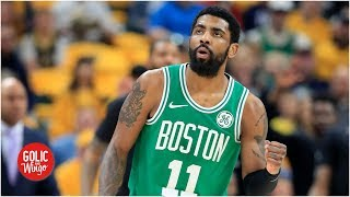 Celtics Kyrie different than when he was with Cavaliers - Kendrick Perkins | Golic and Wingo