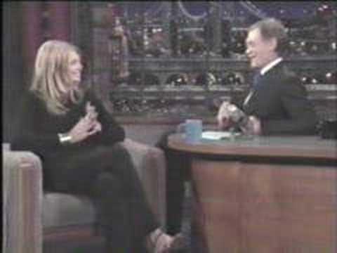 Peta Wilson  Late  with David Letterman 1998