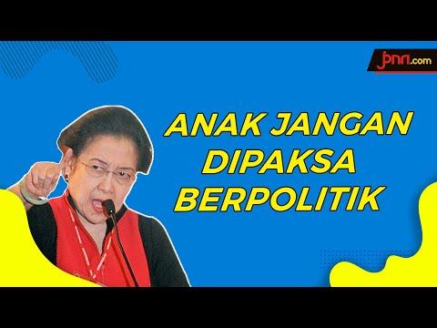 Megawati Kesal Banyak Elite Paksa Anak Ikut Berpolitik