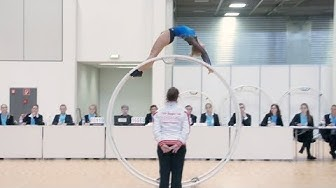 German Championships in Gymwheel 2017 Yana Looft