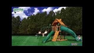 Mountaineer Swing Set -- Wooden Swing Set