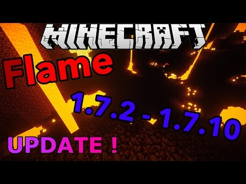 Minecraft 1.7.2 - 1.7.10 : Hacked Client - FLAME ! - Huge Update + PVP Gameplay ! [HD]