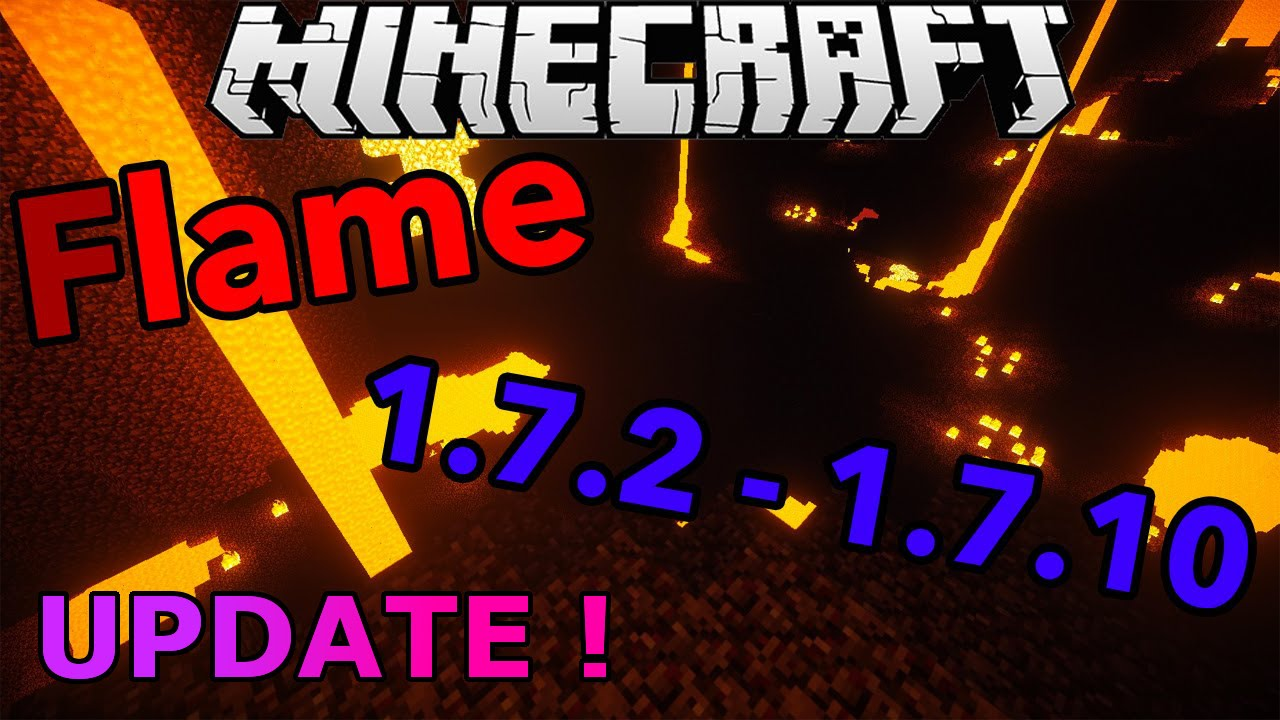 Minecraft 1 7 2 1 7 10 Hacked Client Flame Huge Update Pvp Gameplay Hd Youtube