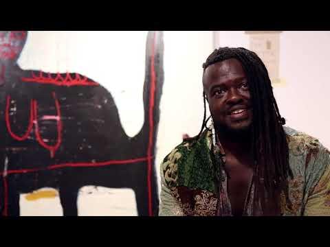 Adébayo Bolaji on solo : Rituals Of Colour at Public Gallery