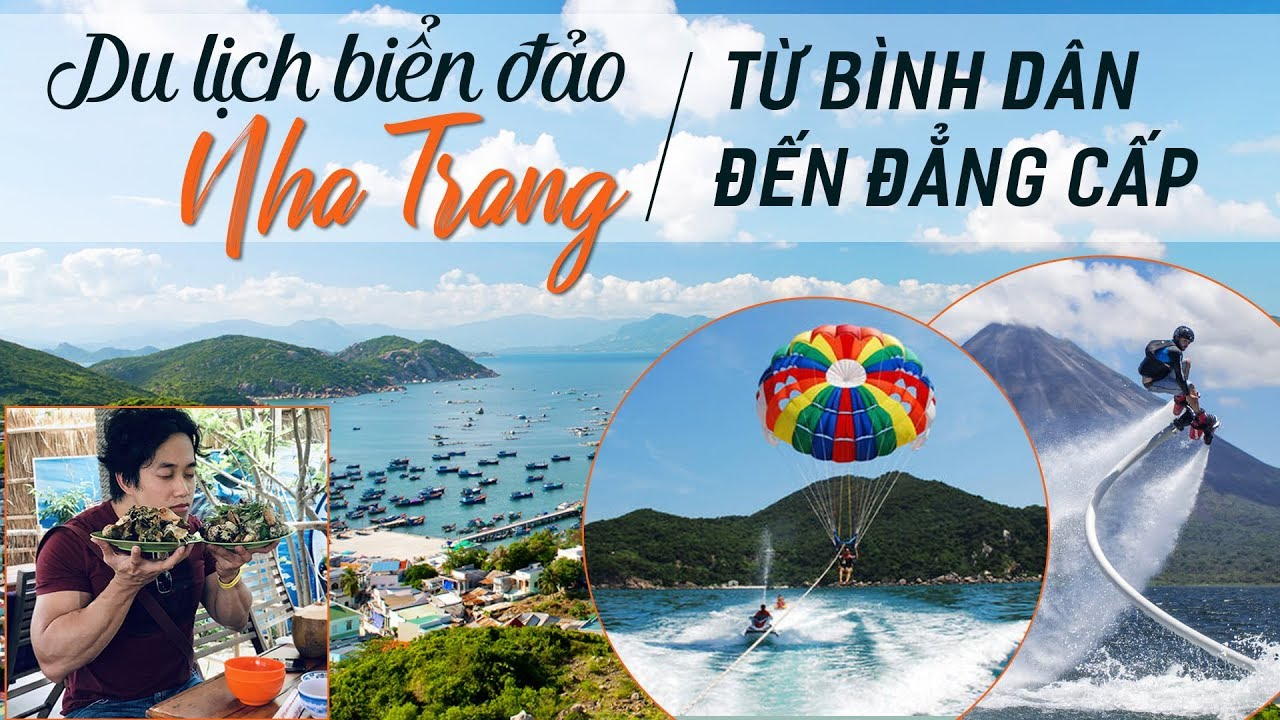 Ẩm thực, trò chơi cảm giác mạnh cực HOT tại Nha Trang