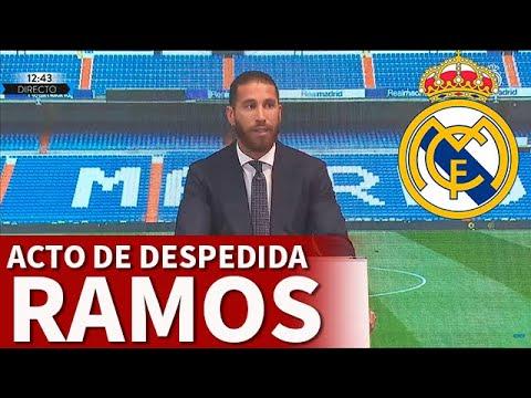 DESPEDIDA SERGIO RAMOS REAL MADRID: ACTO ÍNTEGRO   Diario AS