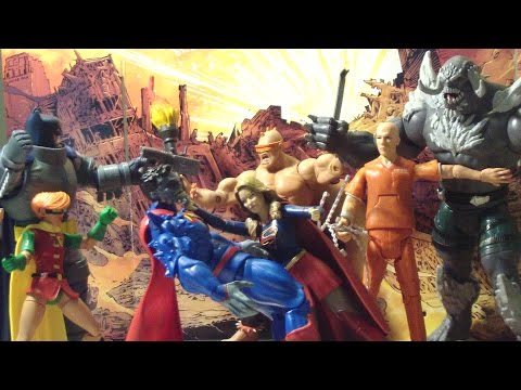 DC Comics Multiverse new52 Doomsday wave Action Figures REVIEW