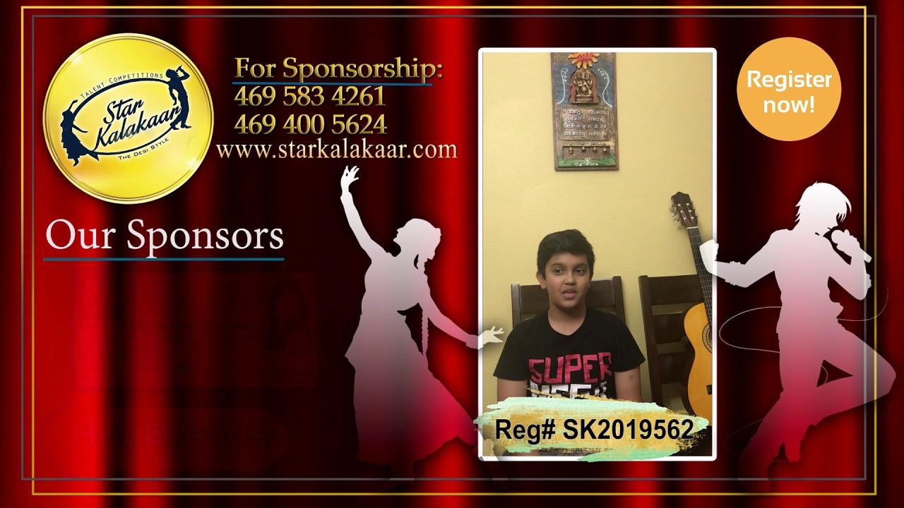 Registration NO - SK2019562 - Introduction Videos StarKalakaar-2019 #SK2019