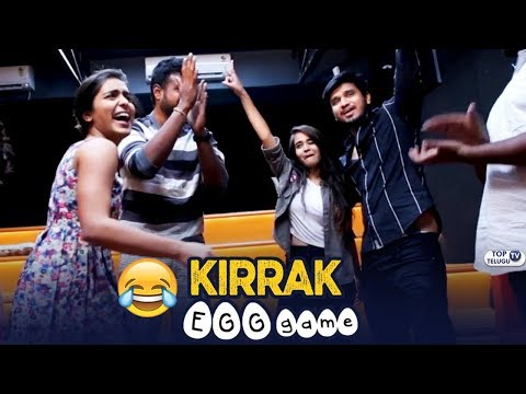 KIRRAK Party Team Funny Egg Game   Kirrak Party Releasing on March 16th   Top Telugu TV