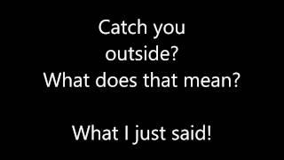CASH ME OUTSIDE HOWBOW DAT REMIX (LYRICS)