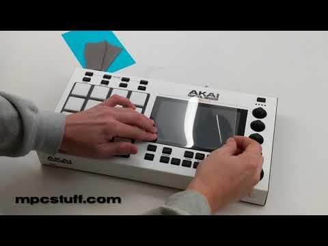 Akai MPC Live / Touch Screen Protector Install - MPCstuff.com